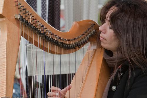 Harpa, um som em forma de sedução