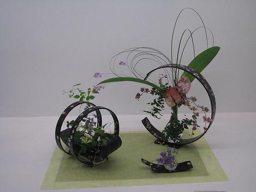 Ikebana: uma obra de arte