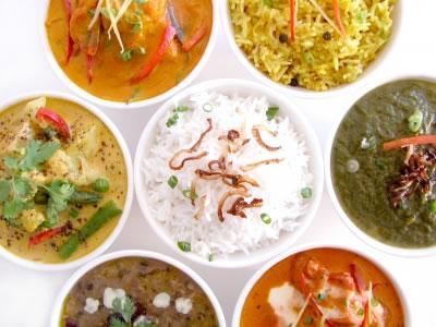 Índia um país com diversos sabores culinários