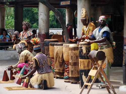 Instrumentos de corda africanos