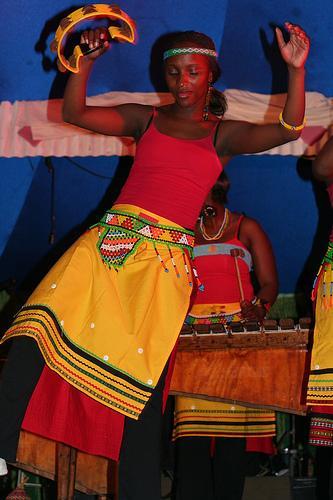 Instrumentos musicais africanos idiofónicos