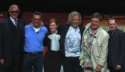 """Lançamento de """"The Big Lebowski"""" em Bluray reune o elenco principal"""