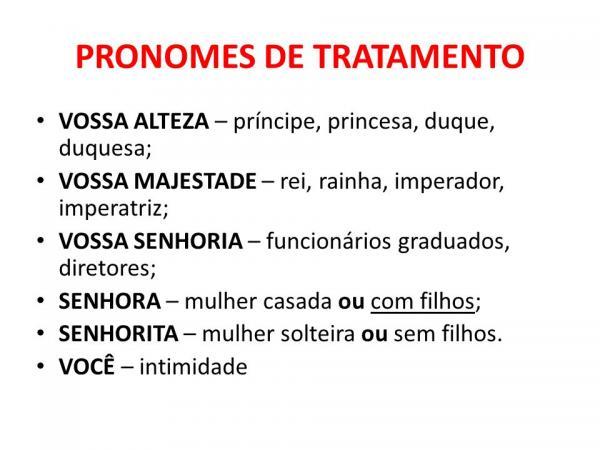 Língua Portuguesa: Vossa Majestade Ou Sua Majestade?