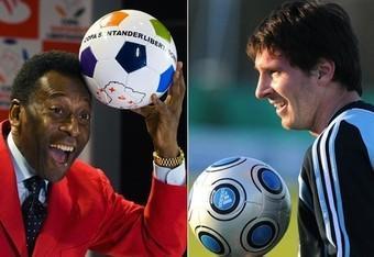 Lionel Messi ou Pelé?