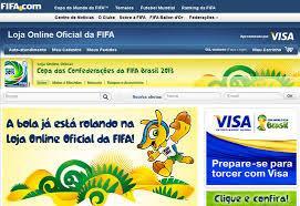 Loja FIFA dispõe de vários produtos