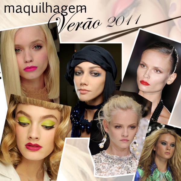 Maquilhagem - Verão 2011