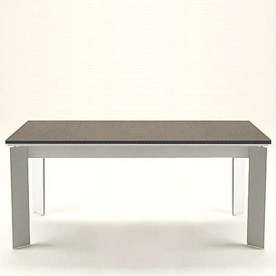Mesa vidro preto