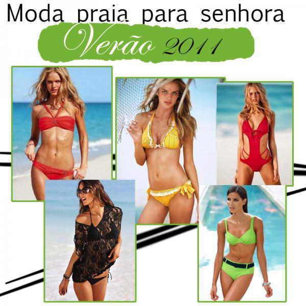 Moda Praia para Senhora - Verão 2011