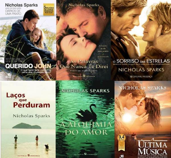 Nicholas Sparks e Suas Inesquecíveis Histórias de Amor