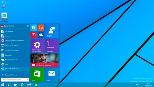 Novidades do recém lançado Windows 10