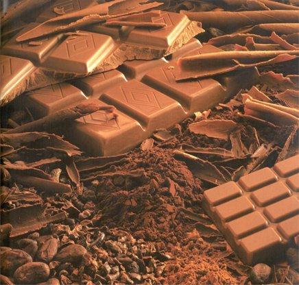 O bem que o chocolate faz!