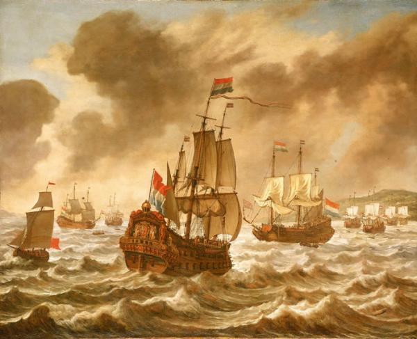 O império holandês-abertura dos mares