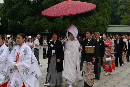 O ritual do casamento japonês