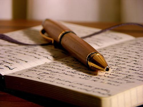 Os jovens ainda escrevem