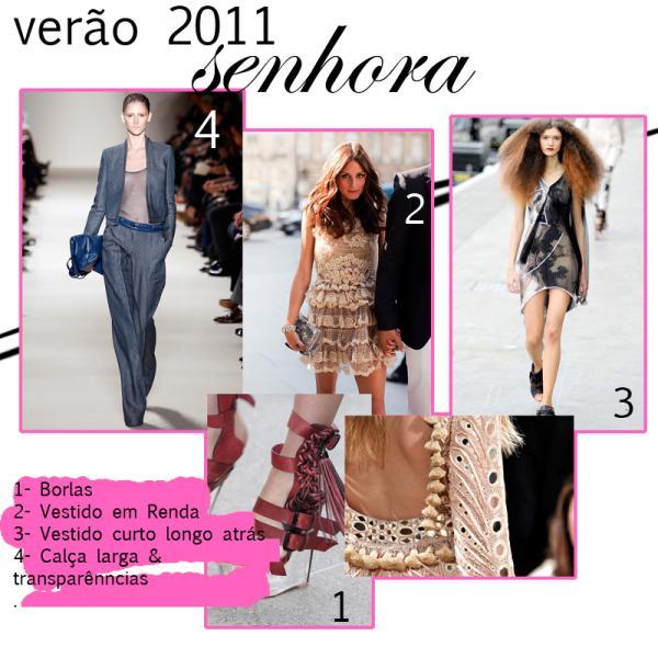 Propostas para Mulher-Verão 2011