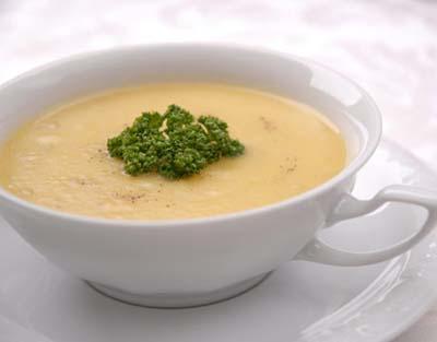 Receita de Sopa de batatas
