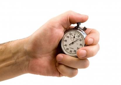 Relógio um escravo do tempo