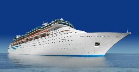 Sai de férias em um cruzeiro marítimo