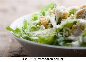 Saladas Quentes de Legumes