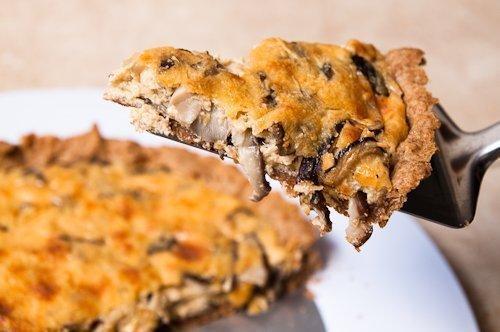 Torta de cogumelo: Ideal para encontro de amigos
