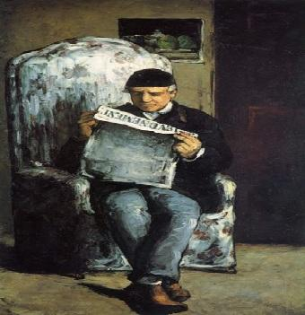 Um retrato de Paul Cézanne