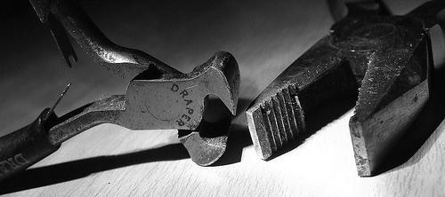 Uma ferramenta articulada
